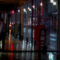 Photos: 雨に けむる街角