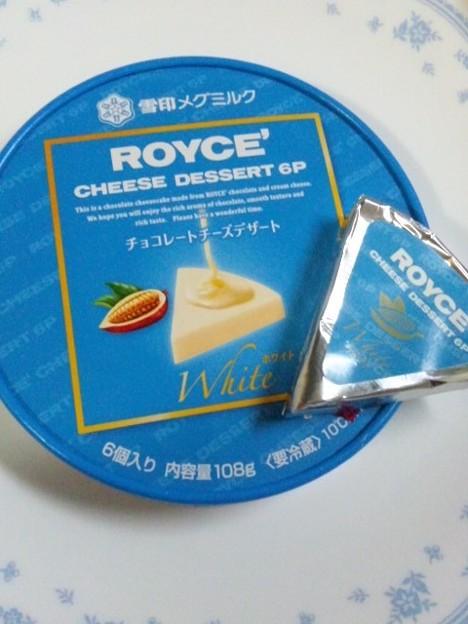 ROYCE'x雪印メグミルク チーズデザート
