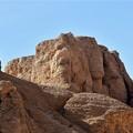 写真: 王家の谷付近の岩山2)