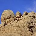 写真: 王家の谷付近の岩山3)