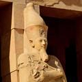 写真: 王の立像5)
