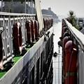 Photos: 隣の船に接船中