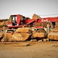写真: 修復作業車