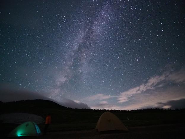 白馬大池の星空