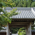 写真: 長興寺 山門