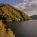 10月・早秋の札幌湖(札幌ダム2)