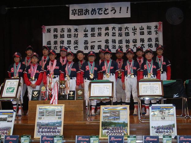 2007年卒団式1(岩佐監督)