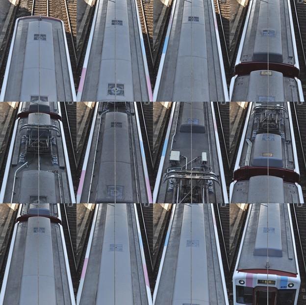 近鉄2050系2052F(RC51)屋根上(名古屋方より撮影) 2010.12.17