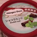 Photos: Haagen-Dazs chocolat mint(ハーゲンダッツ ショコラ ミント)期間限定 1