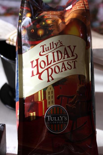 Tully's HOLIDAY ROAST(タリーズ ホリデー ロースト)袋