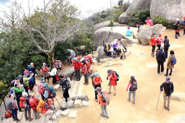 宮島の山頂 弥山