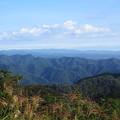 写真: 初秋の山々