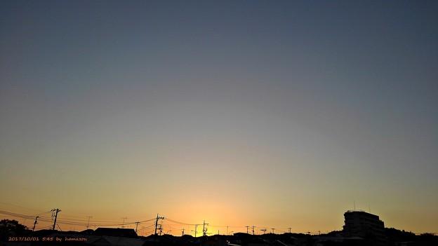 朝焼け(171001)