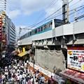 写真: アメ横電車