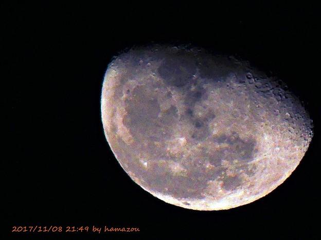 写真: 今宵の月(171108)