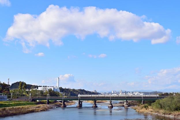 Photos: 秋雲の下