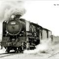 写真: キューロク貨物列車