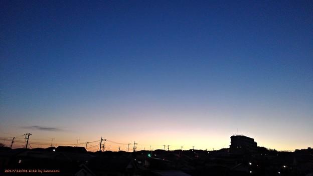 朝焼け(171204)