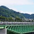 Photos: 215系ホリデー快速ビューやまなし@新桂川橋梁