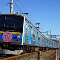 Photos: 6000系「アイカツ!シリーズ」5周年記念ヘッドマーク付き@赤坂~都留市