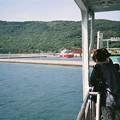 写真: 入港シーン