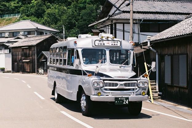 小豆島のボンネットバス(やなぎや観光)2