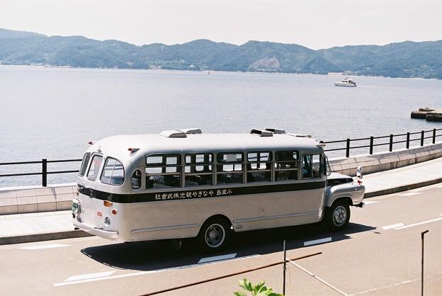 小豆島のボンネットバス(やなぎや観光)3