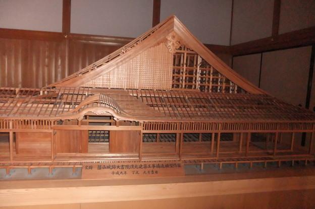 篠山城址跡大書院模型