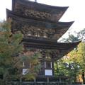 写真: IMG_7538西明寺・三重塔(国宝)