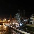 写真: 高山市的橋墩