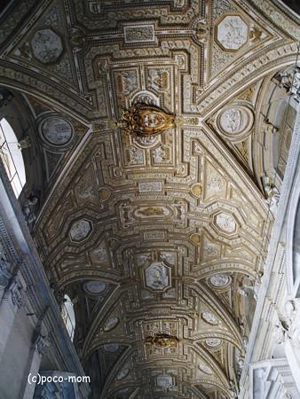 サンピエトロ大聖堂内部2014年10月31日_PA310168