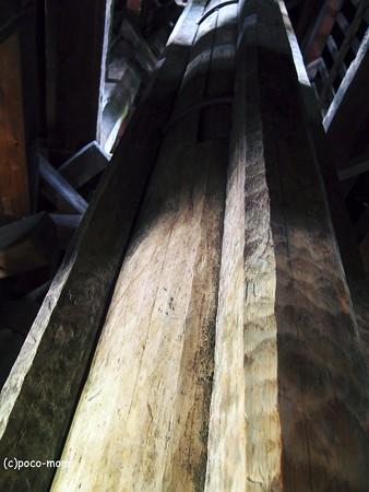 法観寺 五重塔 八坂の塔の内部2014年05月04日_P5040856