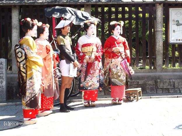 舞妓さん(偽)法観寺 八坂塔 P9241247