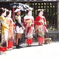 Photos: 舞妓さん(偽)法観寺 八坂塔 P9241247
