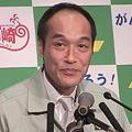 写真: 東国原英夫宮崎県知事退任式4
