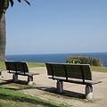 Photos: 海が見えるベンチ