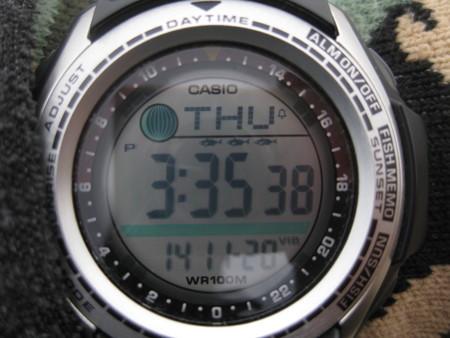 釣り用時計