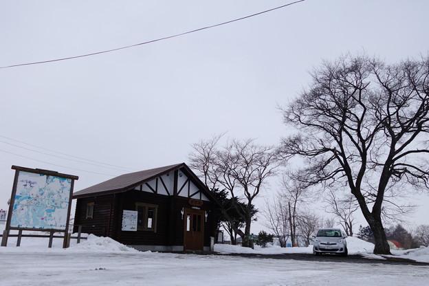釧網本線 茅沼駅