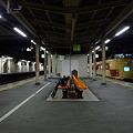 深夜の高崎駅