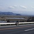 写真: 米沢盆地を望む