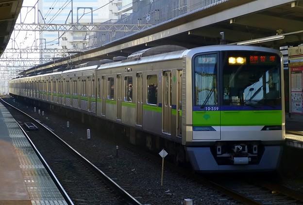都営10-300R形10-350F(5849レ)各停KO04笹塚
