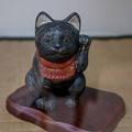 黒い招き猫
