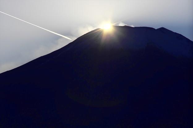 2014ダイヤモンド富士04「洛陽の瞬間」