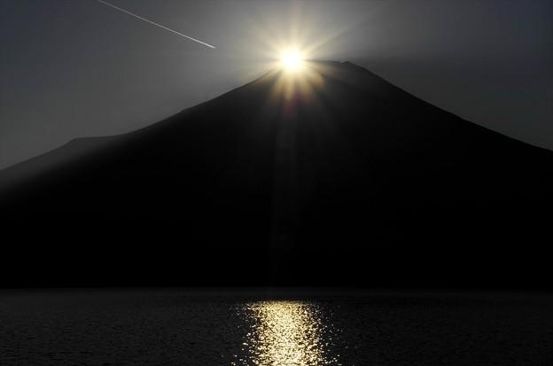 2014ダイヤモンド富士03「50%」