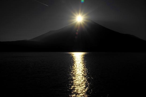2014ダイヤモンド富士02「始まります」