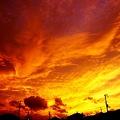 Photos: すべてを燃やすような空