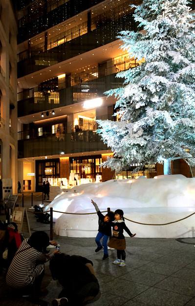 JPタワーのクリスマス