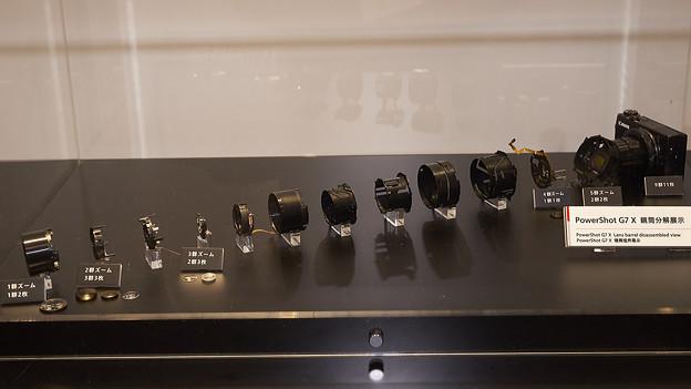 Powershot G7 X レンズ構成