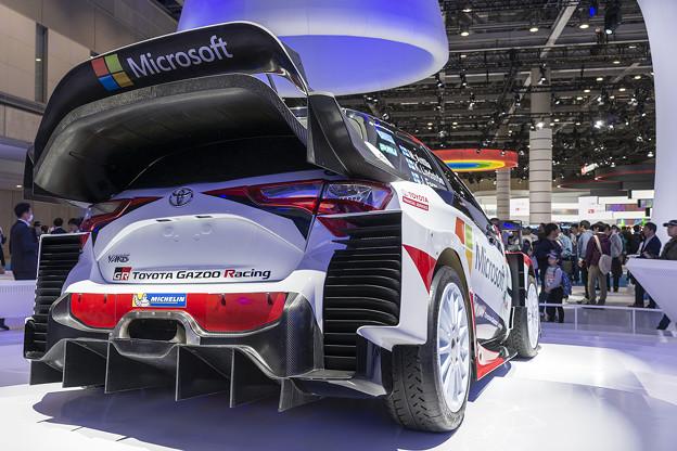 Yaris WRC リア