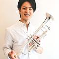 写真: 閏間健太 うるまけんた トランペット奏者            Kenta Uruma